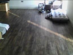 Wooden floor underfloor heating